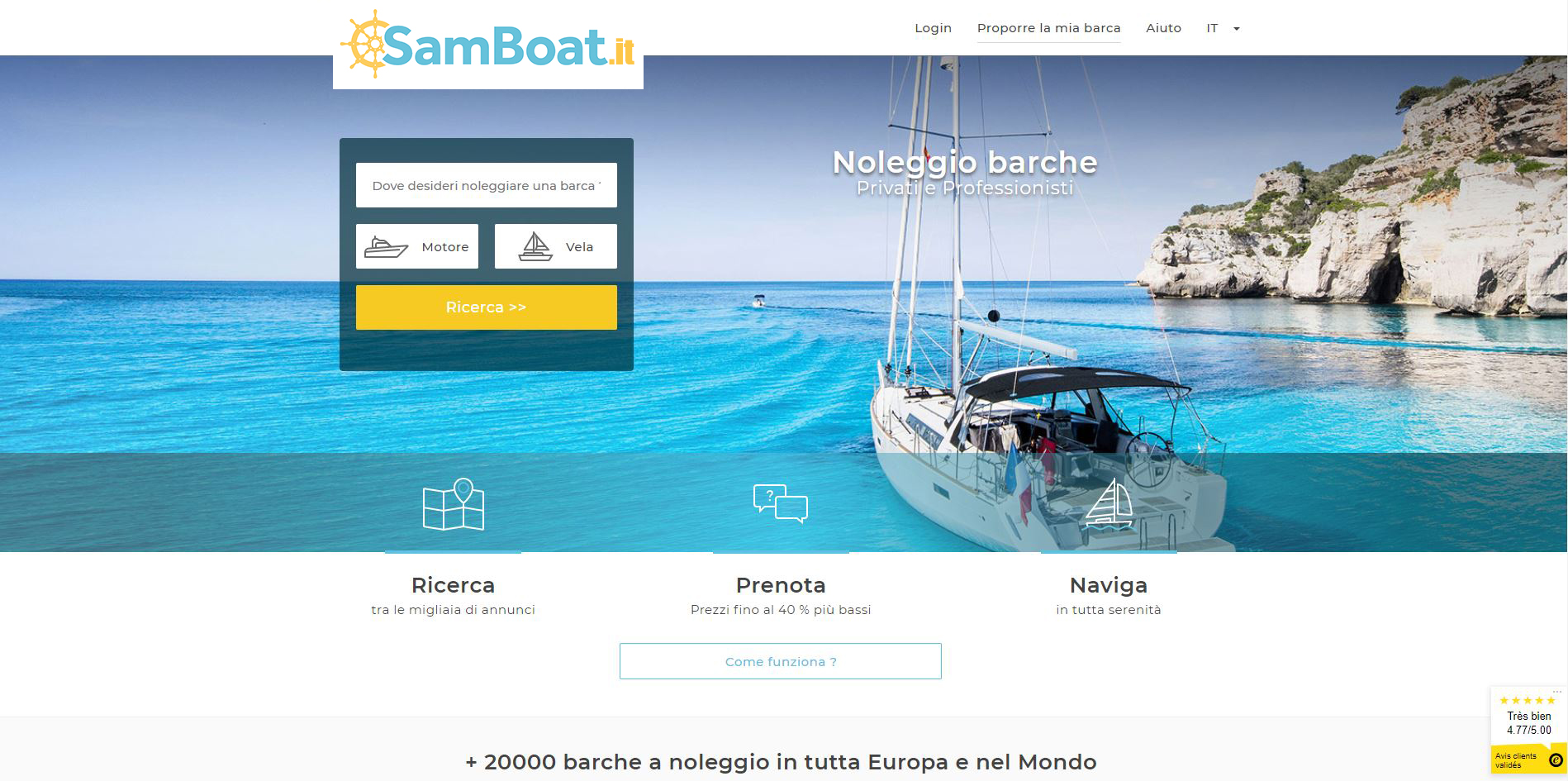 samboat.it HOME