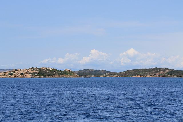 L'isola delle bisce vista mare