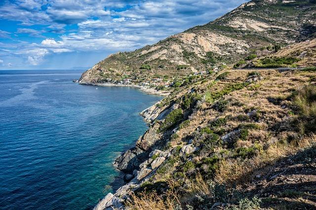Le coste dell'Elba