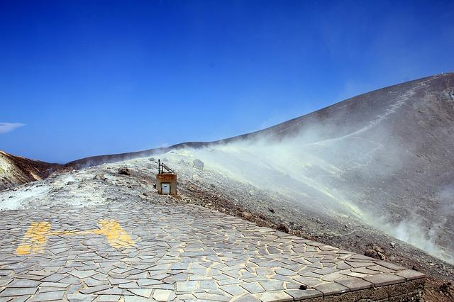 In cima del vulcano