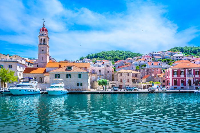 porto turistico in croazia