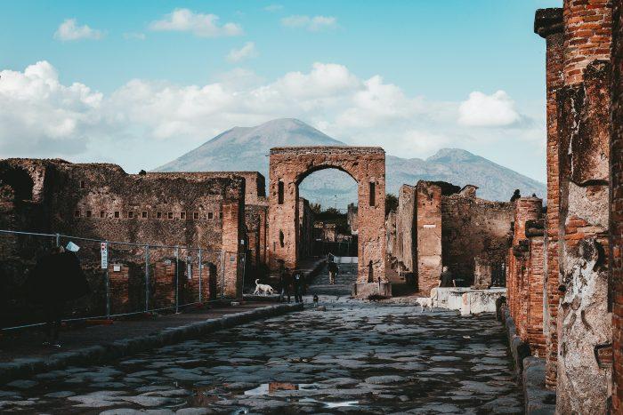 Visitare il sito archeologico di Pompei, nella regione Campania