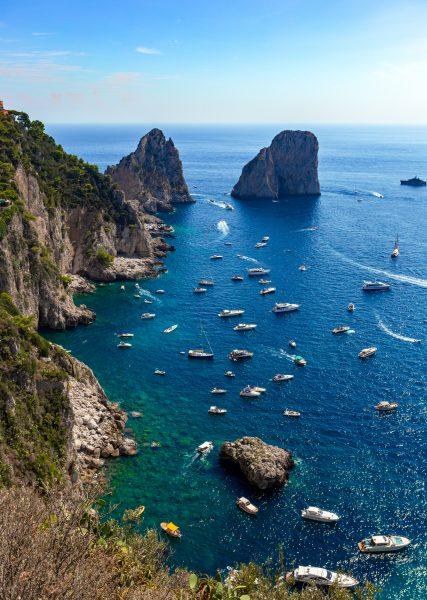 Alla scoperta dell'isola di Capri, nel Golfo di Napoli