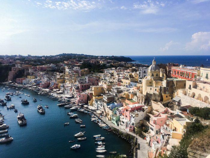 La magnifica Isola di Procida, nel Golfo di Napoli