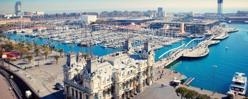 Porto di Barcellona, Spagna