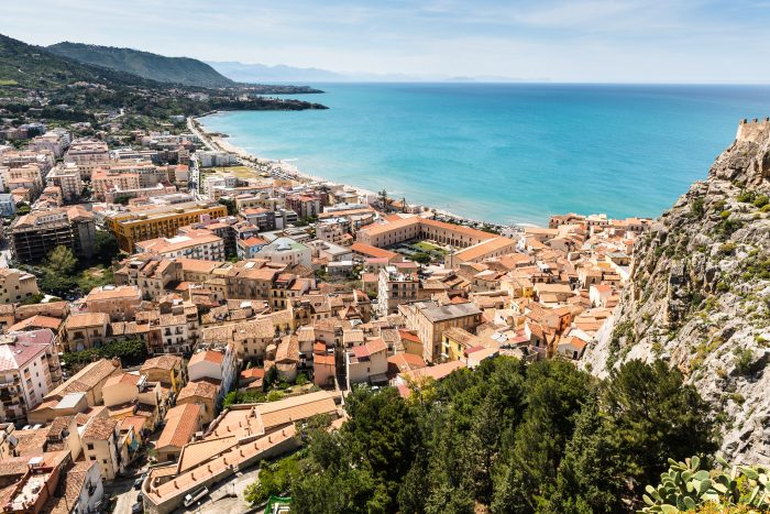 Cefalù itinerario sicilia