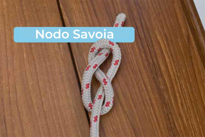 Nodi marinari: il nodo savoia