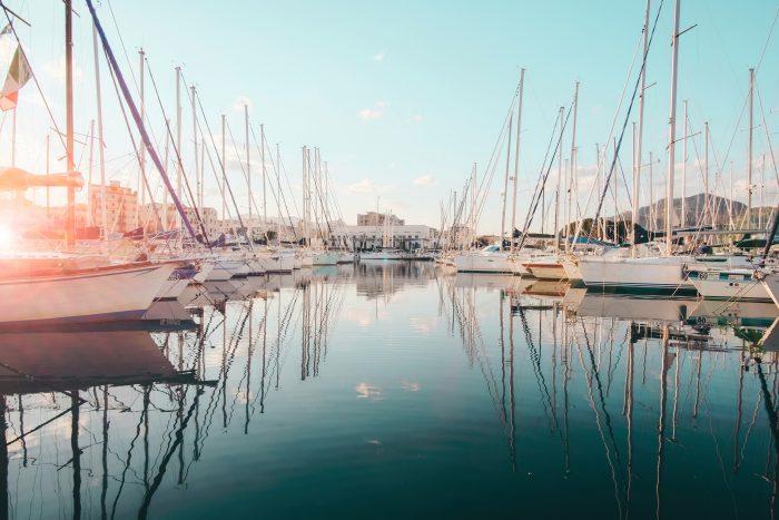 La marina di Palermo, Sicilia