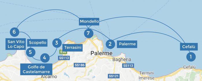 itinerario mini crociera sicilia